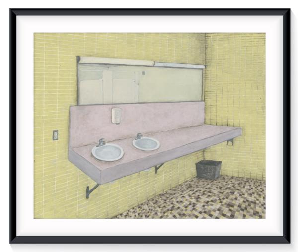 frameyellowbathroom
