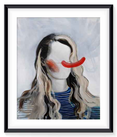 framerednose
